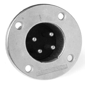 Amphenol EP-4-14 4 Pin Male EP Chassis Connector