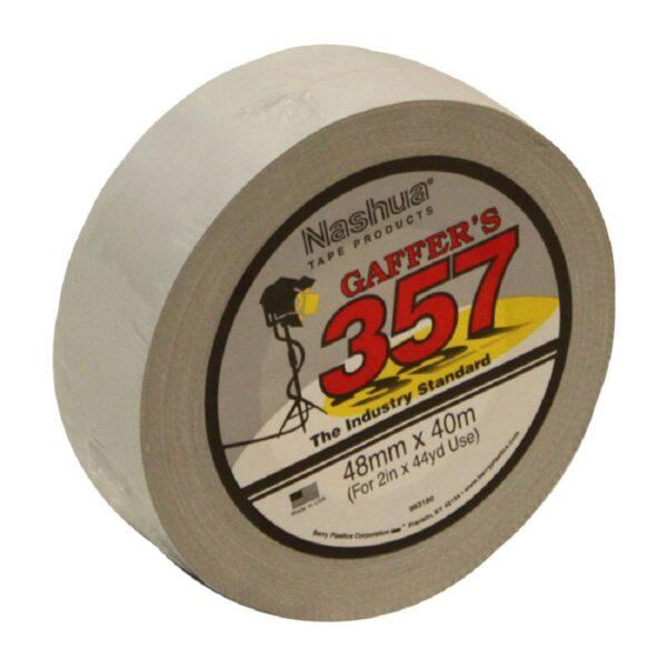 Nashua 357 Gaffer Tape – White 40 metre x 48mm