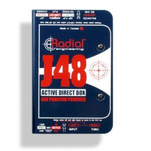 Radial J48 Active DI Box