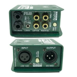 Radial Pro AV1 Multimedia DI Box